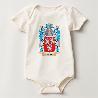 Ross Coat of Arms - Family Crest Baby Bodysuits