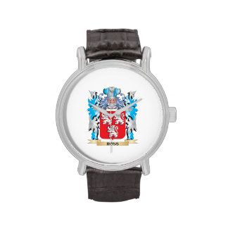 Ross Coat of Arms - Family Crest Wristwatches