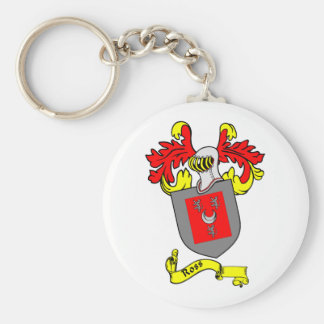 ROSS Coat of Arms Key Chain