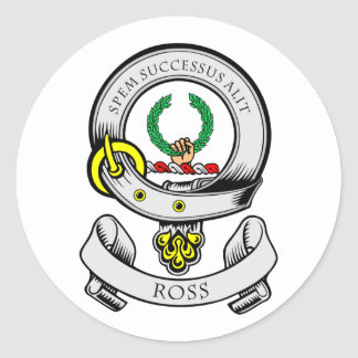 ROSS Coat of Arms Sticker