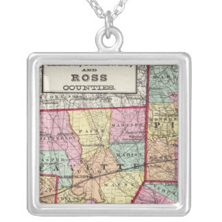 Ross Counties Silver Plated Necklace