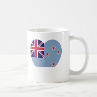Ross Dependency Flag Heart Coffee Mugs