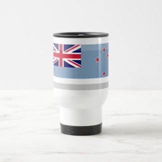 Ross Dependency Flag Jewel Stainless Steel Travel Mug
