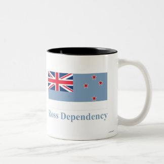 Ross Dependency Flag with Name Mug