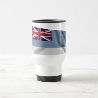 Ross Dependency Waving Flag Stainless Steel Travel Mug