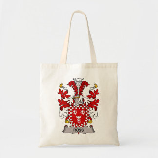 Ross Family Crest Budget Tote Bag