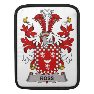 Ross Family Crest iPad Sleeve