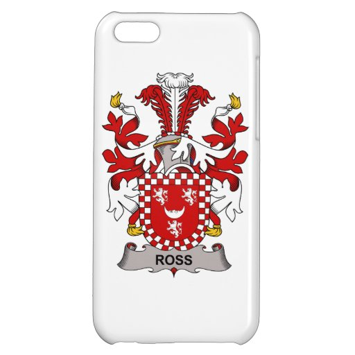 Ross Family Crest iPhone 5C Cases