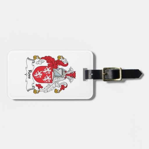Ross Family Crest Tags For Bags