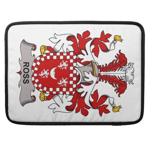 Ross Family Crest MacBook Pro Sleeve