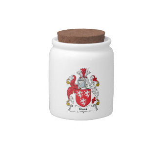 Ross Family Crest Candy Dish