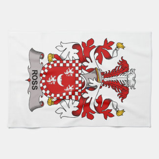 Ross Family Crest Kitchen Towel