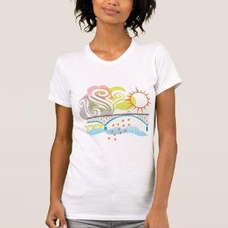 Ross Island Bridge Portland T-Shirt