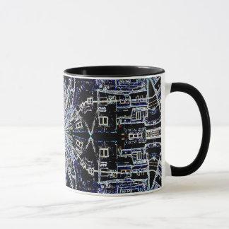 "Ross' ""Jerusalem Wallscapes"" Digital Art Mug"