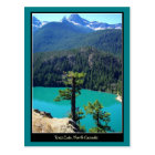 Ross Lake on North Cascades, Washington Postcard