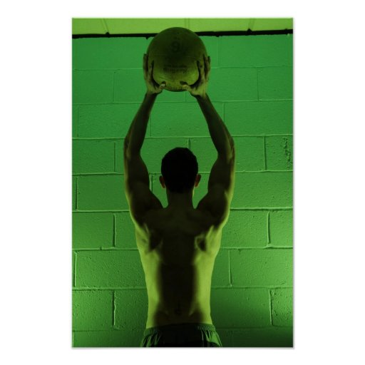 ross preston Fitness Poster
