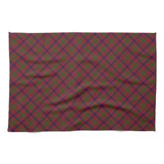 Ross Scottish Clan Tartan Design Tea Towel