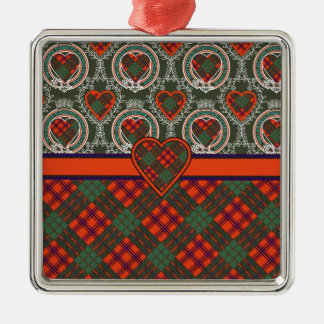 Ross Scottish Tartan Christmas Ornament