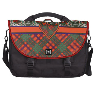 Ross Scottish Tartan Laptop Messenger Bag