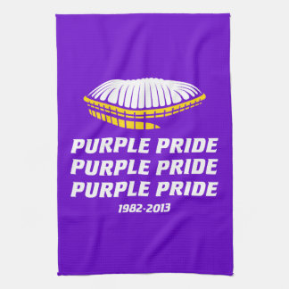 Ross Smith Purple Pride Tea Towel
