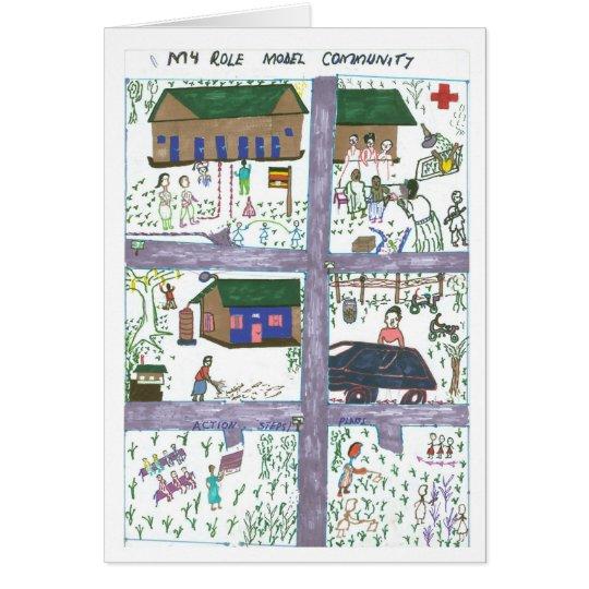 Rossette's Vision of a Model Community Card