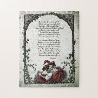 """Rossetti """"Love"""" Victorian Art Puzzle"""