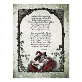 """Rossetti """"Love"""" Victorian Postcard"""