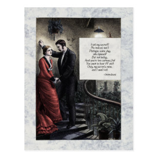 "Rossetti ""My Secret"" Victorian Postcard"