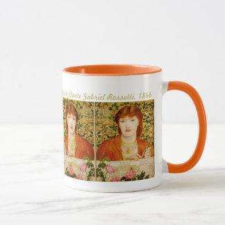 Rossetti Regina Cordium  CC0505 Pre-Raphaelite Mug