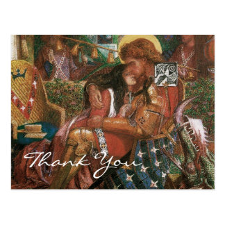 Rossetti s Wedding of St George and Princess Sabra Post Cards