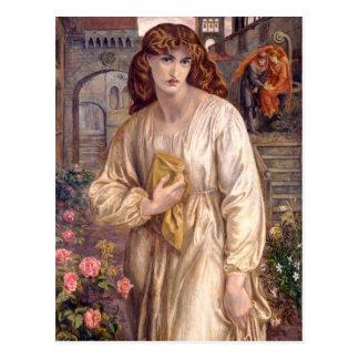 Rossetti Salutation of Beatrice CC0646 Postcard