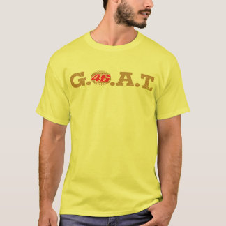 Rossi G.O.A.T (red/gld) T-Shirt