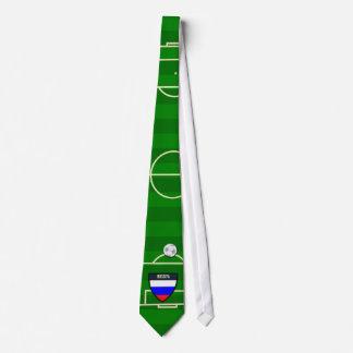 Rossiya Russia Soccer Field Football Tie