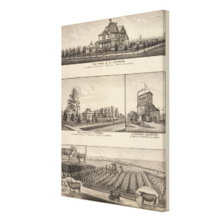 Rossville, Kansas Canvas Print
