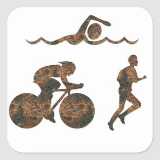 Rost Triathlon Sticker