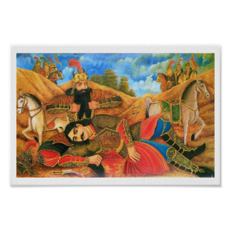 Rostam & Sohrab Print