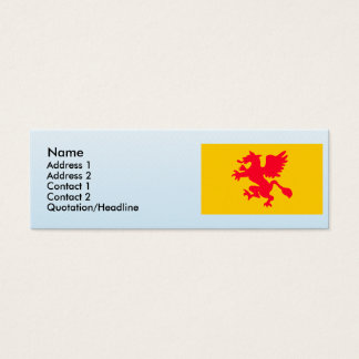 Rostock , Germany Mini Business Card