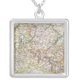 Rostock Germany Silver Plated Necklace