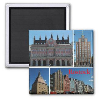 Rostock Square Magnet
