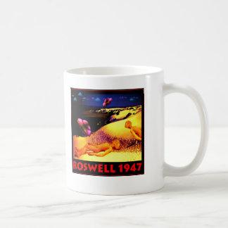 Roswell 1947 UFO Crash Mug