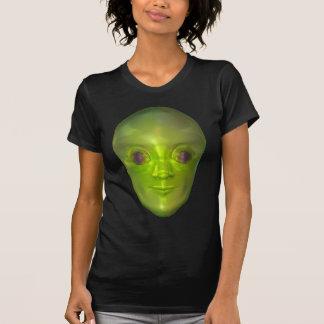 Roswell 3D Alien Head Extraterrestrial Women's Dar T-Shirt