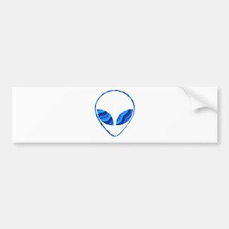 Roswell Alien Bumper Sticker