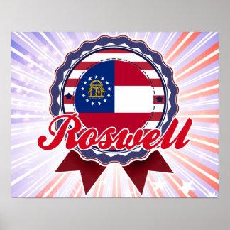 Roswell GA Print