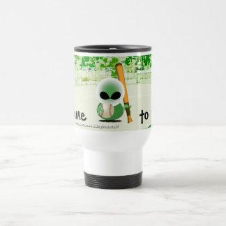 Roswell jokes stainless steel travel mug
