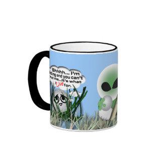 Roswell jokes ringer mug