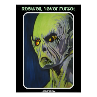 Roswell, Never Forget Poster