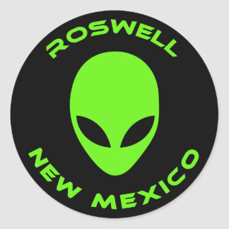 Roswell, New Mexico Classic Round Sticker