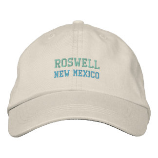 ROSWELL, NM cap Embroidered Cap
