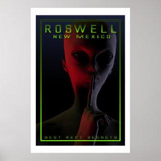 Roswell Secrets Hybrid Poster