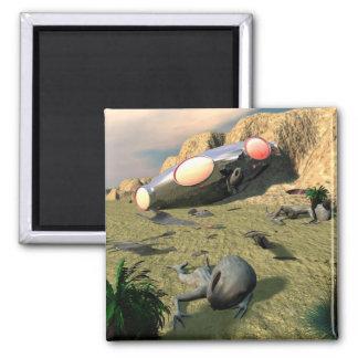 Roswell UFO Crash Magnet